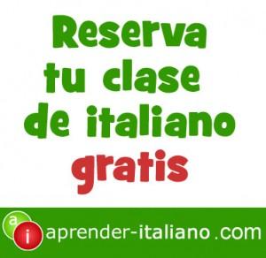 clase de italiano gratis