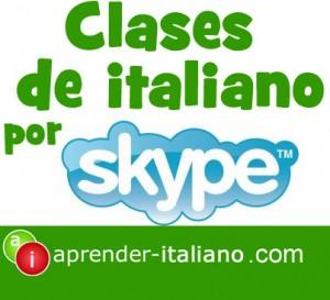 clases de italiano por skype