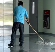 empleado de la limpieza