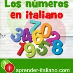 numeros en italiano