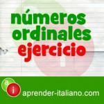 numeros ordinales en italiano