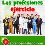 profesiones en italiano eje