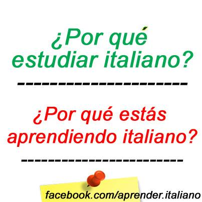 estudiar italiano por no gay