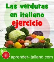 las verduras en italiano
