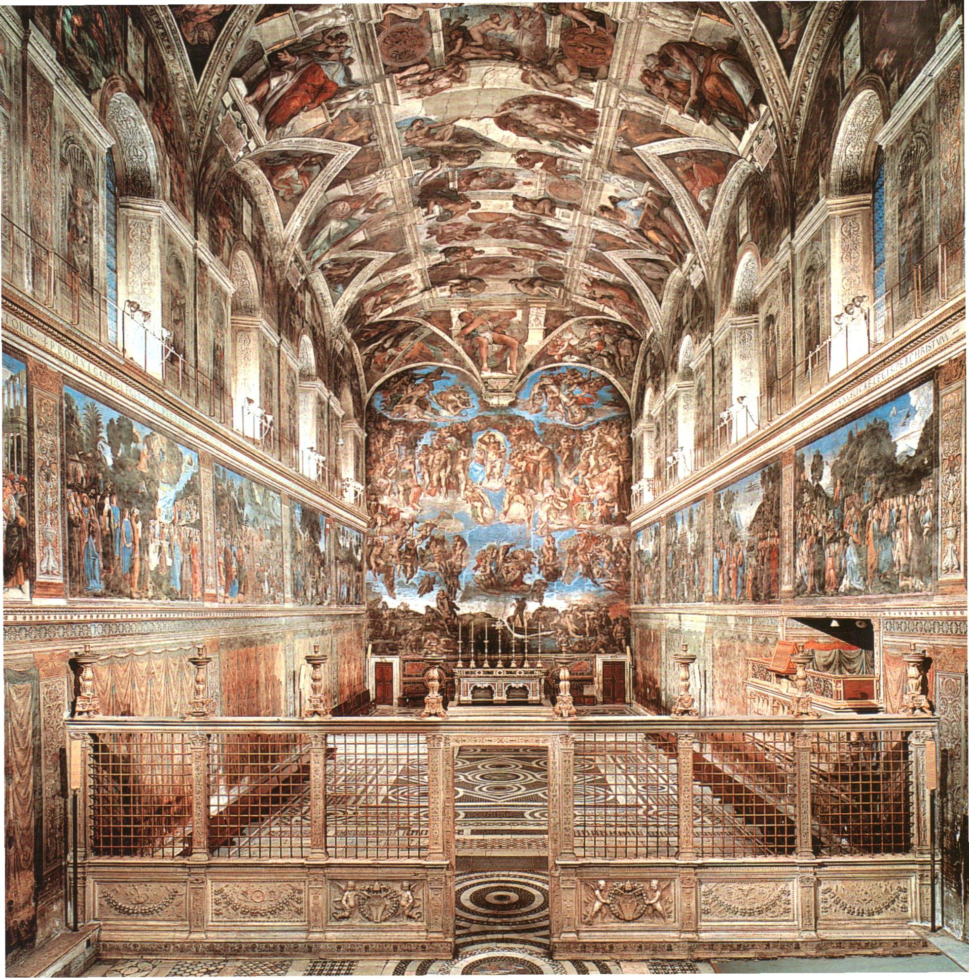 La Cappella Sistina Ejercicio De Comprensi N De Texto En