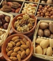 nueces y frutos secos en italiano