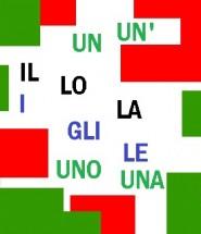 Los artículos definidos e indefinidos en italiano