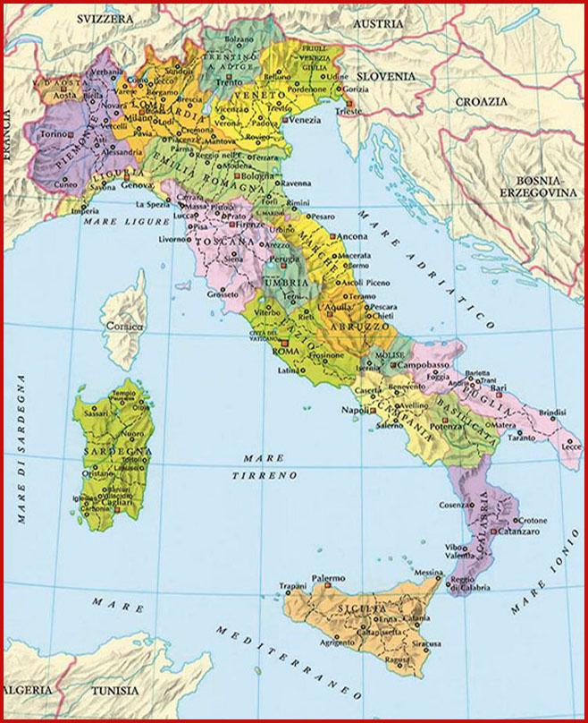 Cuanto sabes de geograf a italiana aprender italiano for Be italia