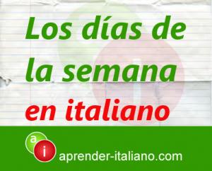 dias-de-la-semana-en-italiano